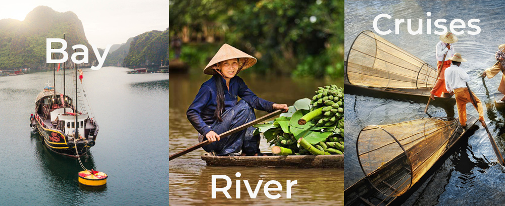 Halong, Mekong, Myanmar Cruises
