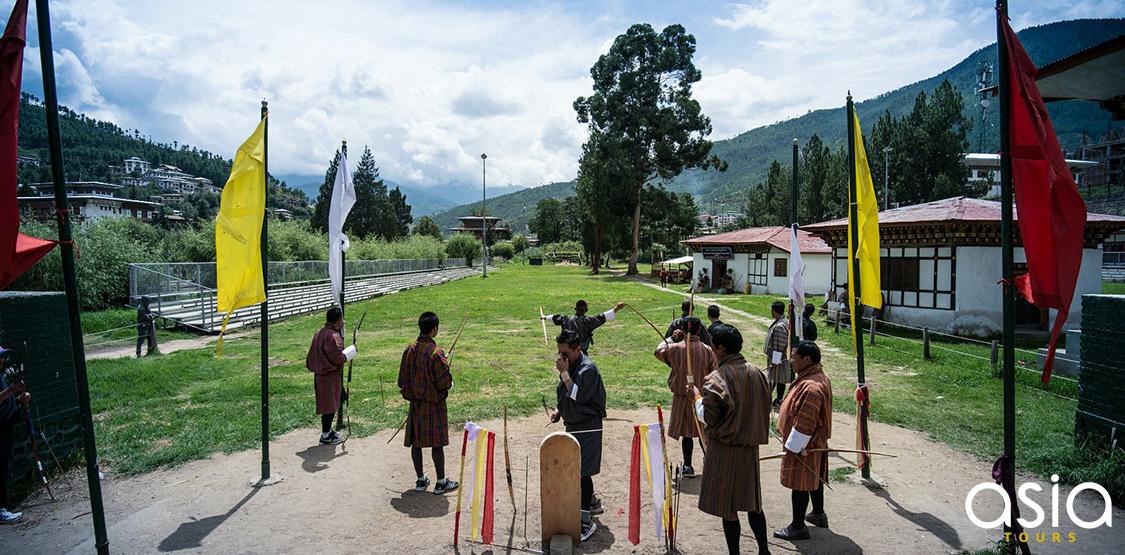 Archery Bhutan