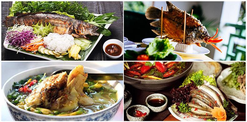 Food in Mekong Delta Vietnam