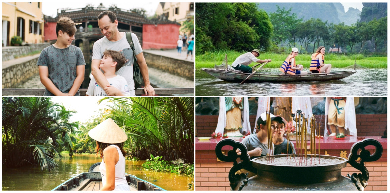 Vietnam travel with kids
