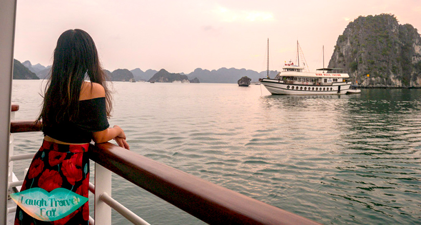 Enjoy Halong Bay view from a different view