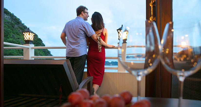 Privacy on Halong Bay Cruises