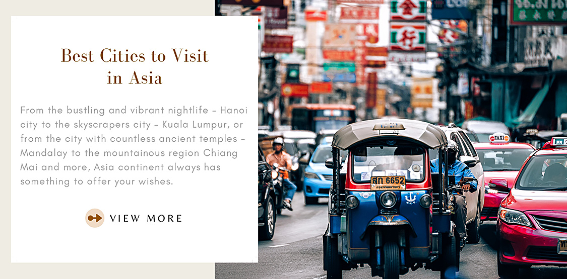 Best Cities to Visit in Asia