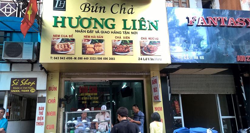 Bun Cha Obama Huong Lien