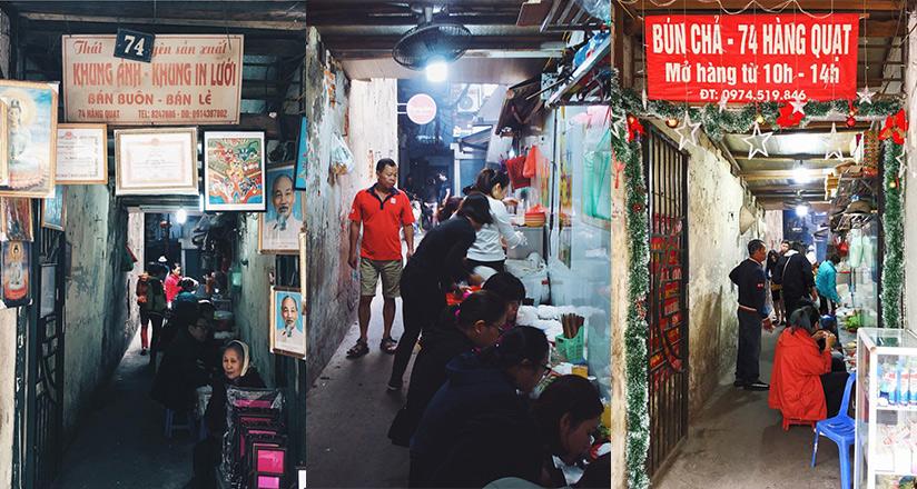 Bun Cha 74 Hang Quat