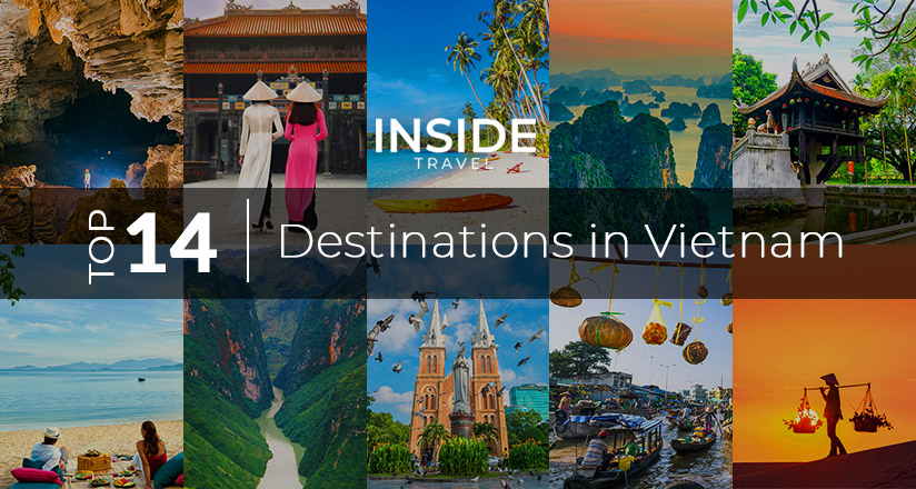 Top destinations in Vietnam