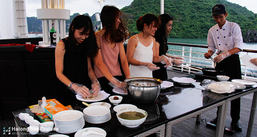 Halong Bay Cruise Cooking Class