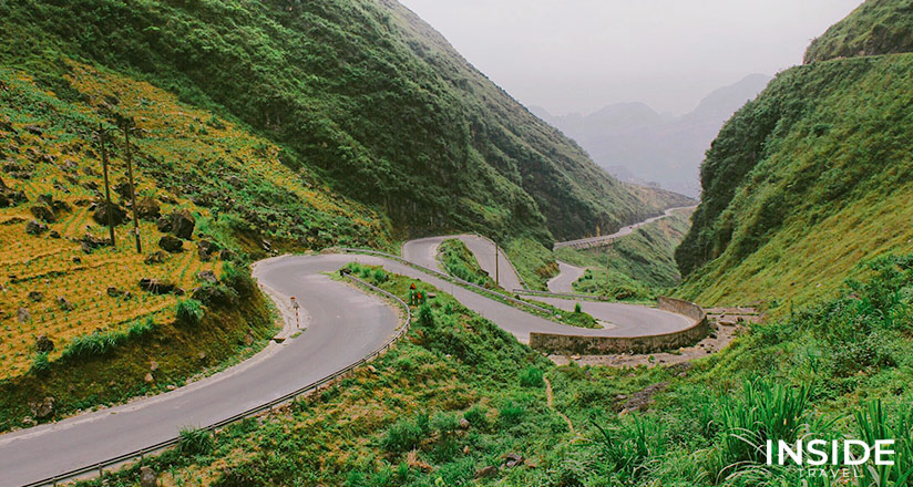 Winding Road Ha Giang