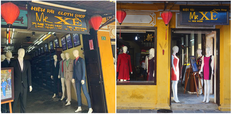 Best tailor shops in Hoi An - Mr Xe Tailor