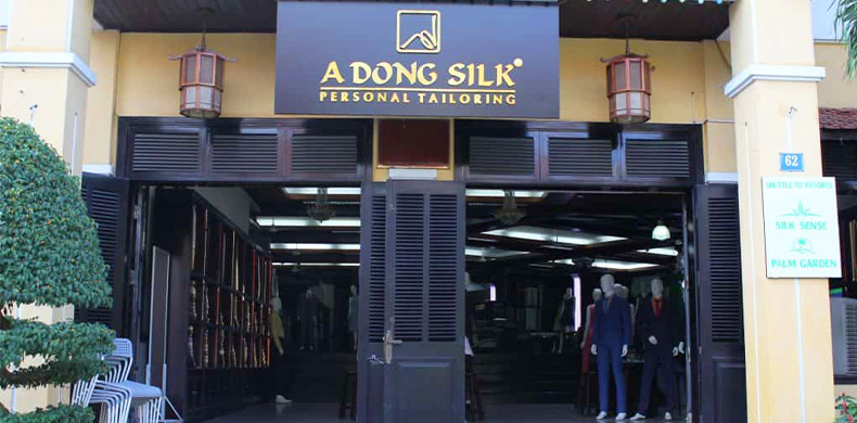 Best tailor shops in Hoi An - A Dong Silk