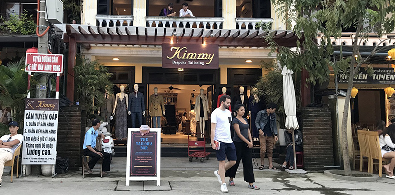 Best tailor shops in Hoi An - Kimmy Tailor