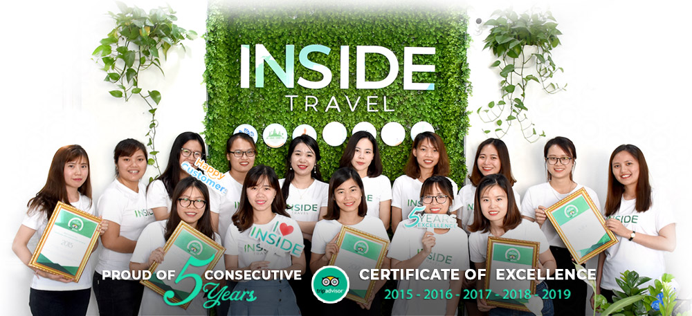 Inside Travel Tripadvisor Certificate of Excellence Hall of Fame