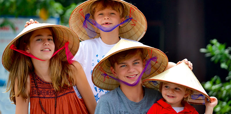 Vietnam Tours with kids