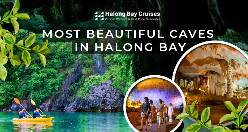 Most beautiful caves in Halong Bay