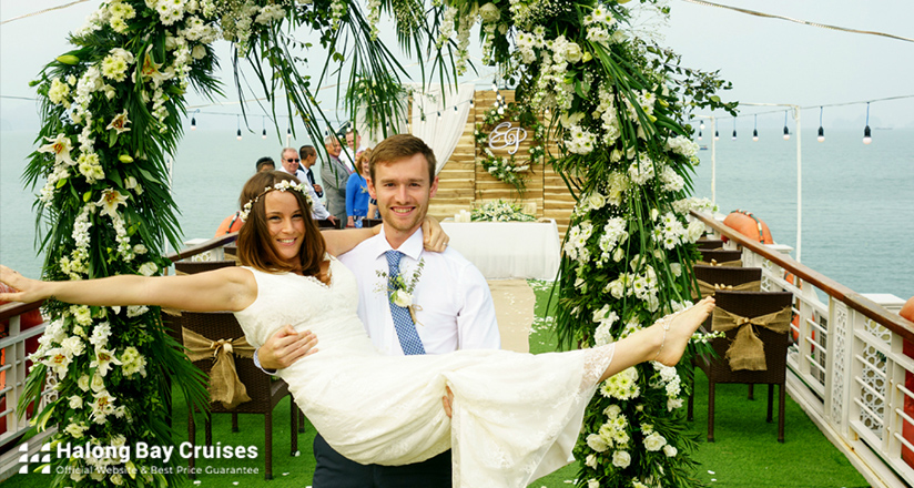 Wedding on Halong Bay Cruises