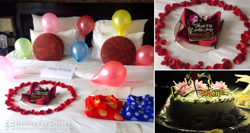 Birthday on Halong Bay Cruises