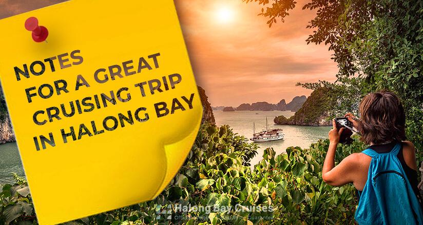 Halong Bay Cruise Notes