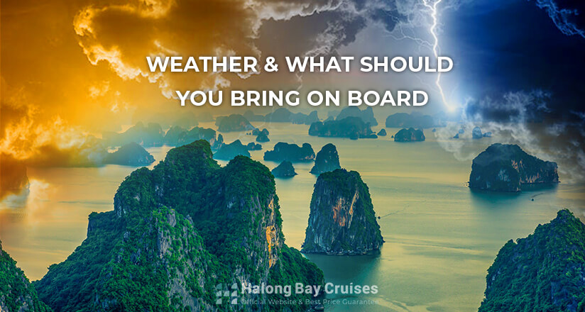 Weather and what you should bring on board