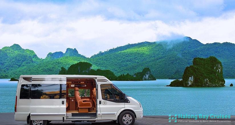 How to get to Bai Tu Long Bay