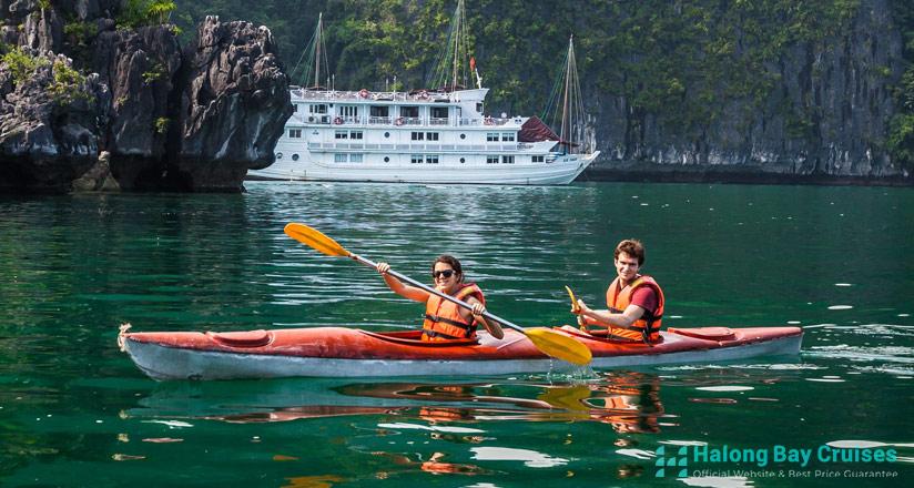 Halong Bay 2 days 1 night itinerary