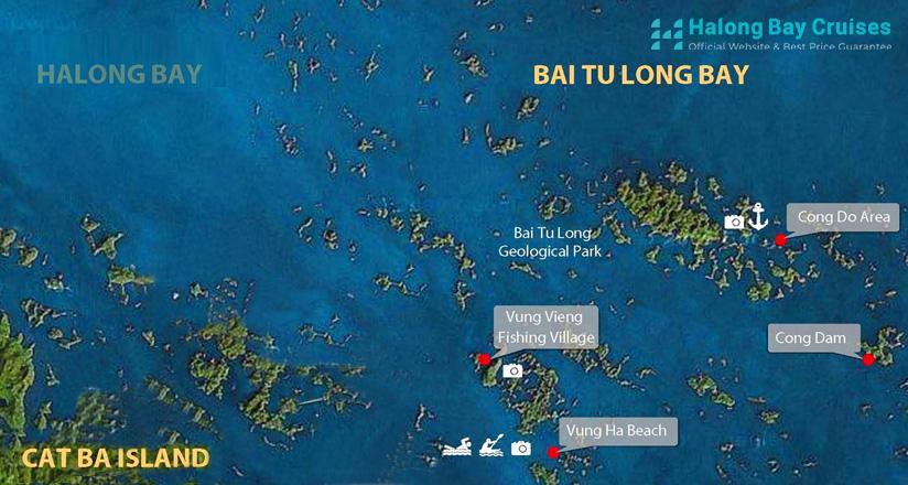 Bai Tu Long Bay Cruises