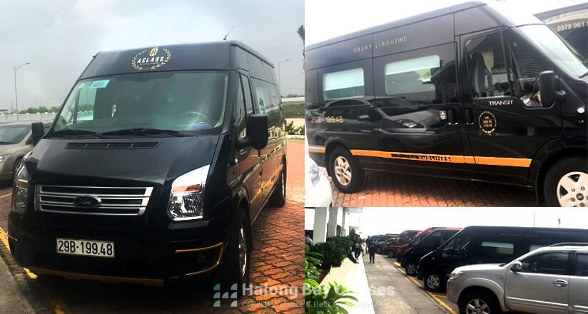 Halong Bay Limousine Transfer