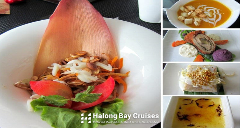 Food and Beverage on Halong Bay Cruises