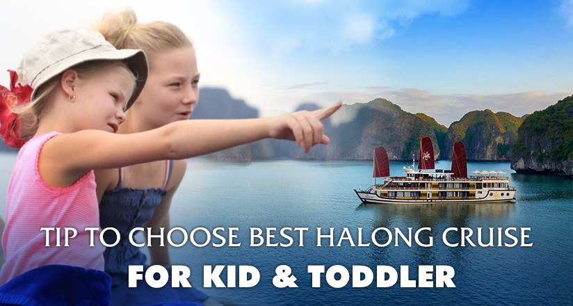 Halong Bay Cruises with kids