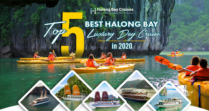 Top 5 Halong Bay Day Cruises