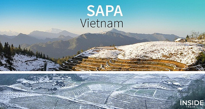 Sapa Vietnam in Winter