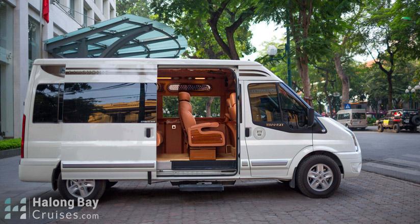 Halong Bay Cruise Shuttle Bus